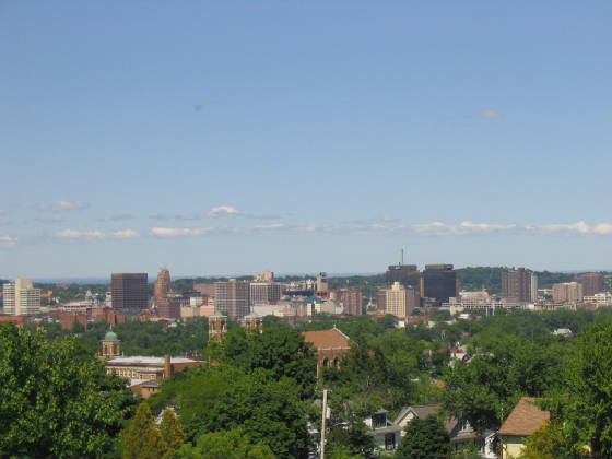 Bridgeport Ct Skyline