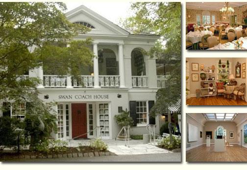 Swan Coach House Atlanta Art Galleries Artist Studios